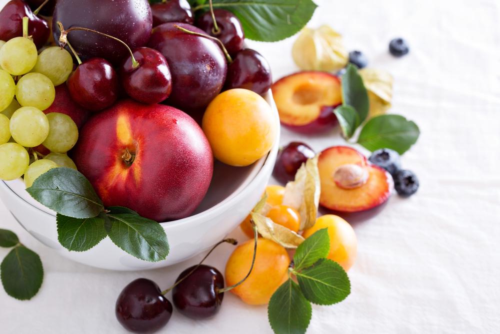 9 kurat më të rëndësishme të frutave përgjatë vitit